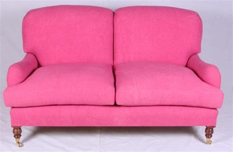 george sherlock sofa monday makeover decorating with pops of pink my old