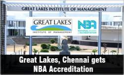 Aiu Mba Accreditation by Great Lakes Chennai Gets Nba Accreditation Qualifies For