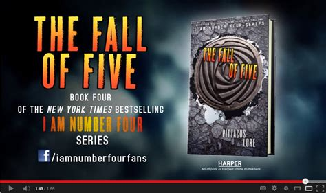The Fall Of Five trailer the fall of five by pittacus lore we are word nerds