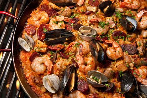 the gallery for gt seafood paella recipe