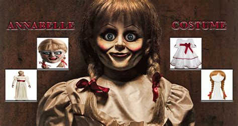 classy annabelle doll costume horror event guide