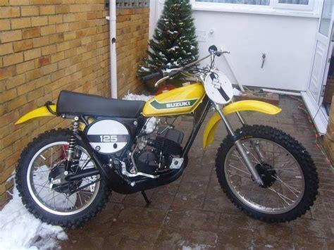 Suzuki Tm 125 For Sale 1973 Suzuki Tm125 Vintage Motocross Bikes