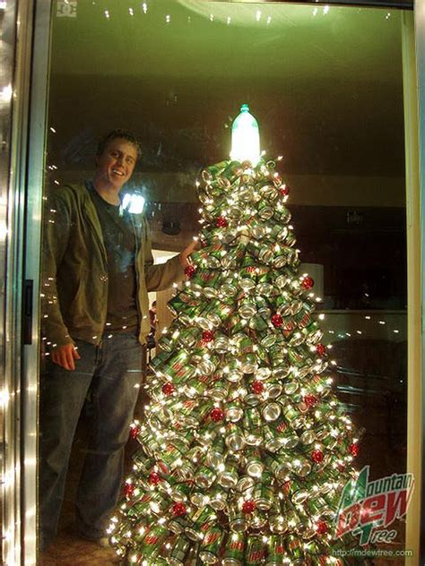 a holiday classic christmas tree made from 400 mountain