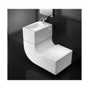 roca w w cuvette wc suspendue et lavabo 2 en 1 roca w w