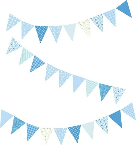 1000 ideas about blue bunting on pinterest christening