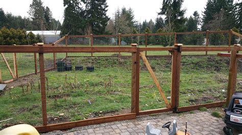 deer fences and garden fences ajb landscaping fence