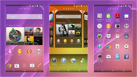 hd themes for xperia z2 install xperia z2 home 6 2 1 a 0 5 themes home widgets