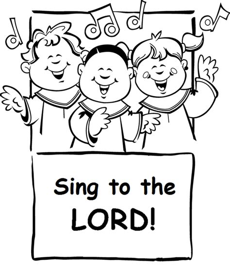 Free God Love Children Coloring Pages Give Thanks To The Lord Coloring Page