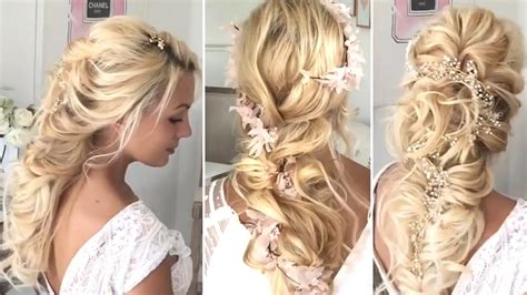 the most beautiful wedding hair transformations 2017