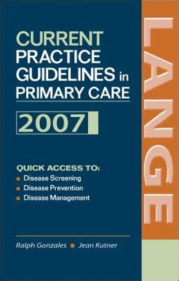 current practice guidelines in primary care edition 7 by