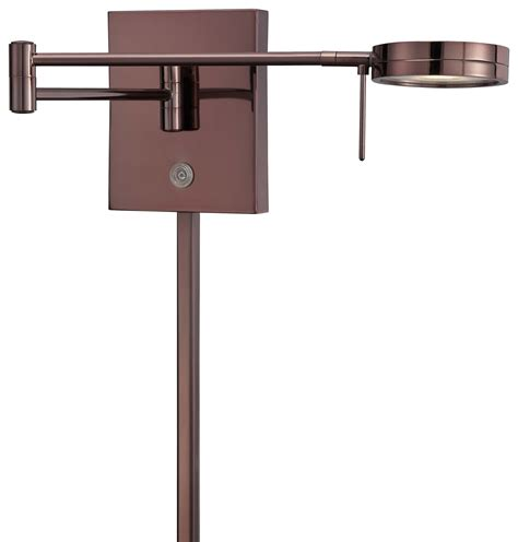 swing arm reading light interior modern wall mount sconce light with adjustable