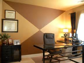 Paint For Office by Home Office With Painted Accent Wall Hgtv