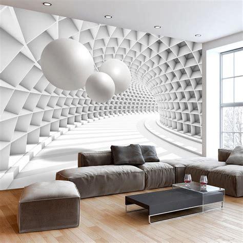 modern  wallpaper murals  living room