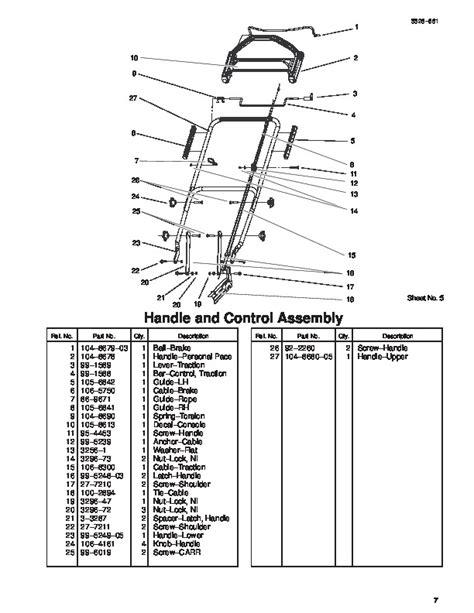 toro personal pace lawn mower parts diagram toro personal pace lawn mower parts diagram diarra in