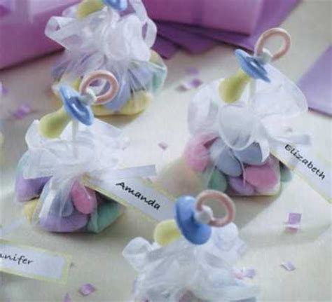 Things For Baby Showers by Sweet Things Pacifiers Baby Shower Favor Kit Baby Shower