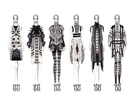 fashion illustration line up may 2015 graduation fashion show student profile jc munoz
