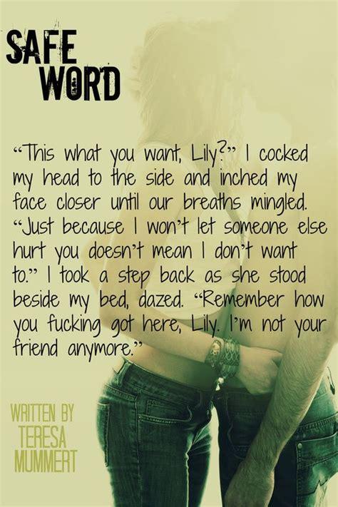 other words for safe 8 best safe word images on pinterest book quotes teaser