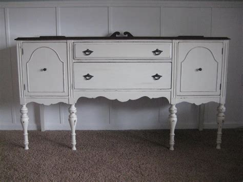 luvleelilly creamy white antique buffet