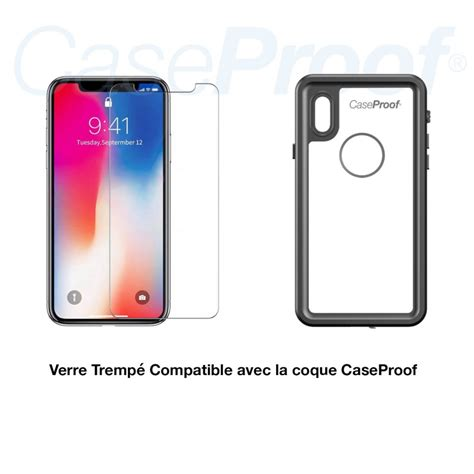 protection ecran en verre trempe pour iphone   xr