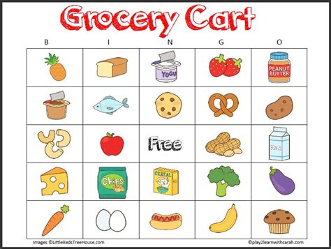 printable shopping list game free printable grocery store scavenger hunt life love