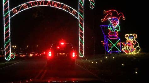 tanglewood park lights tanglewood park lights clemmons nc at