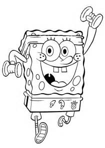spongebob squarepants coloring pages free printable spongebob squarepants coloring pages for