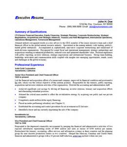 Executive Officer Sle Resume by Chief Commercial Officer Resume