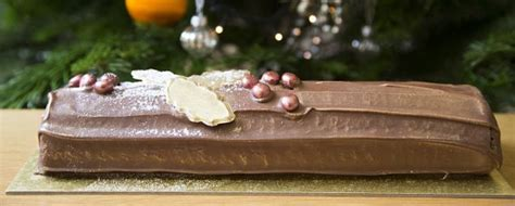 Forget xmas pud it s the year of the chocolate log survey shows