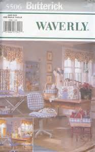 Waverly Patterns Curtains Waverly Sewing Room Accessories Pattern Curtains By Zombarella