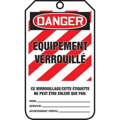 etiquette cadenassage 201 tiquettes de s 233 curit 233 verrouillage 25 paquet sau870