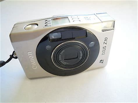 canon ixus z70 aps point and shoot film camera plus 1 roll