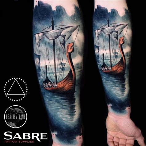 viking ship tattoo best 25 viking ship ideas on viking