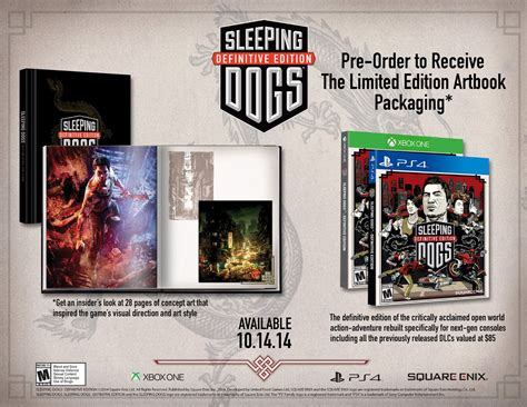 sleeping dogs xbox one sleeping dogs quot rebuilt quot for xbox one and ps4 coming in october according to