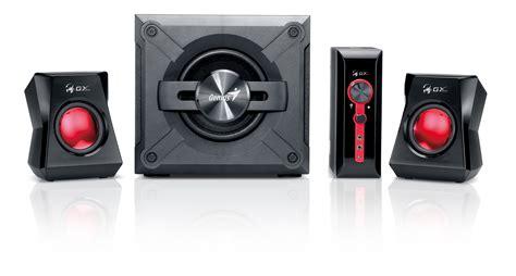 Speaker Genius Sw G 2 1 1250 genius sw g2 1 1250 2 1 speaker system black genius