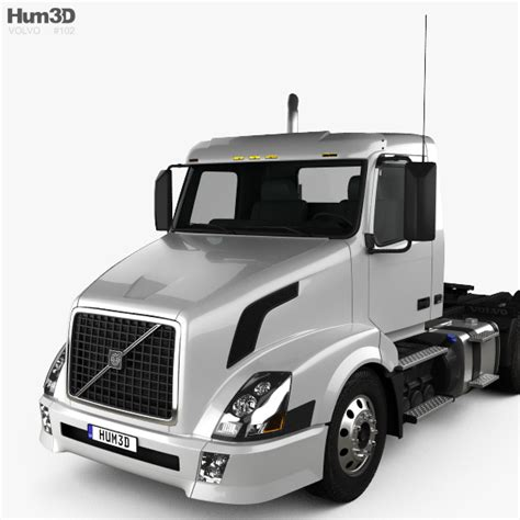 volvo truck 2011 volvo vnl 300 tractor truck 2011 3d model hum3d