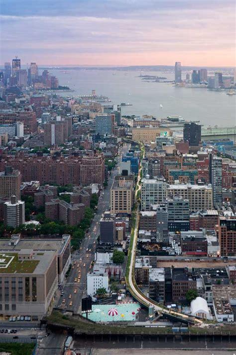 high line park new york section 2 manhattan e architect