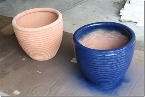 spray painting terracotta pots best 25 large terracotta pots ideas on large