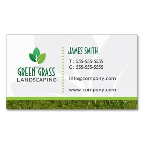 Landscape Business Cards Design Templates by Landscaping Professional Business Card Lawn Care