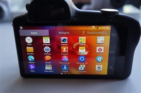 Samsung Galaxy Nx samsung galaxy nx on