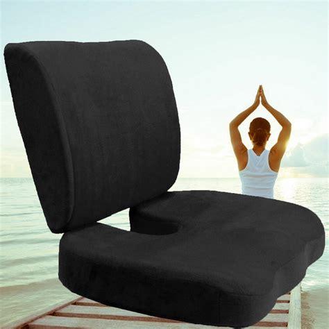 lumbar pillow for chair car office home memory foam seat chair waist lumbar back