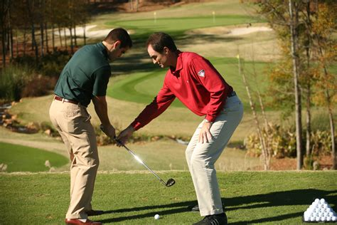 golf swing lesson new program to grow the game to be tested at reynolds