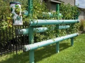 Pvc Pipe Vertical Garden Vertical Gardening Using Pvc Pipes Garden