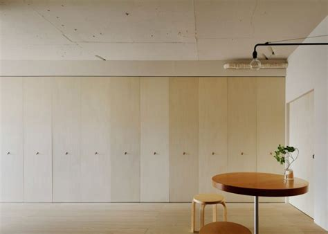 Hideaway Kitchen by Minorpoet Remodels Japanese Apartment With Hideaway Kitchen