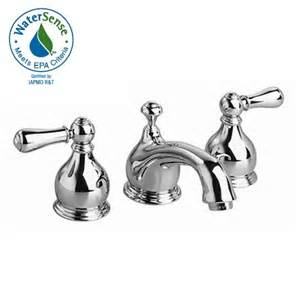 American Standard Bathroom Fixtures American Standard 7871 712 Hton Widespread Bathroom Faucet Traditional Spout