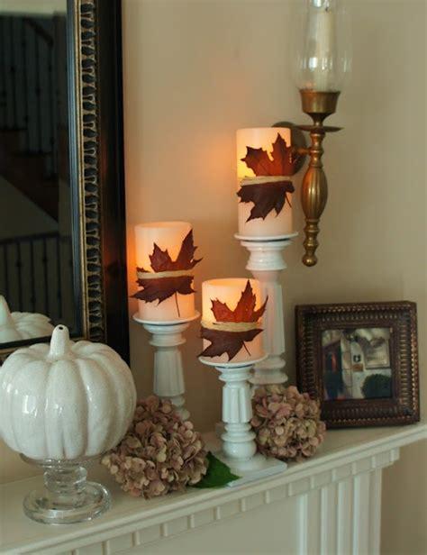 beautiful fall decor 39 beautiful fall mantel d 233 cor ideas digsdigs