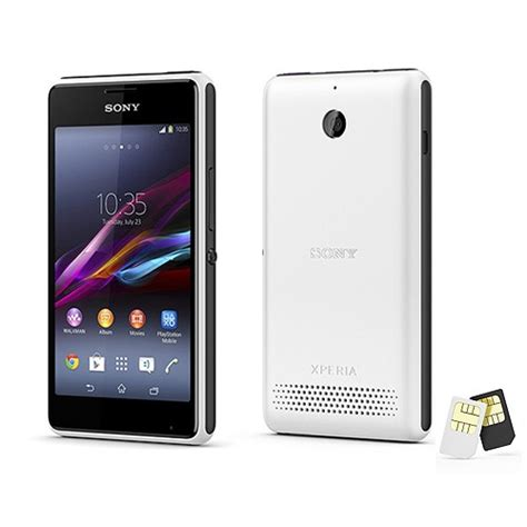 Hp Android Sony Xperia E Dual review spesifikasi android sony xperia e1 dual ruangkomputer