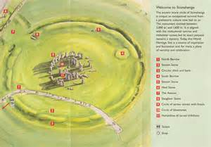 stonehenge map a drive to stonehenge from and other along