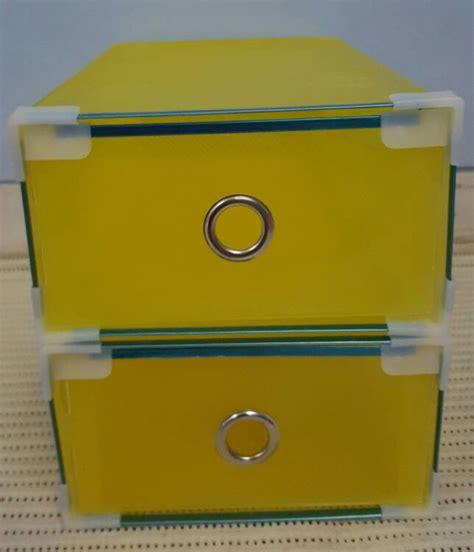 Box Kotak Laci Sepatu Plastik Tempat Sandal Transparan Hf1 jual kotak sepatu transparan slide metal list ring dan sudut plastik miracle store