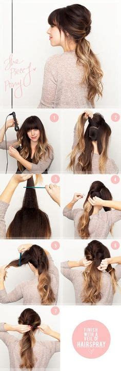 chongo or ponytail easy hair styles on pinterest summer hairstyles braids