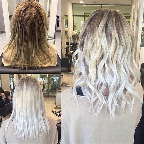 foil hair colour suggestions les 25 meilleures id 233 es de la cat 233 gorie blond polaire sur